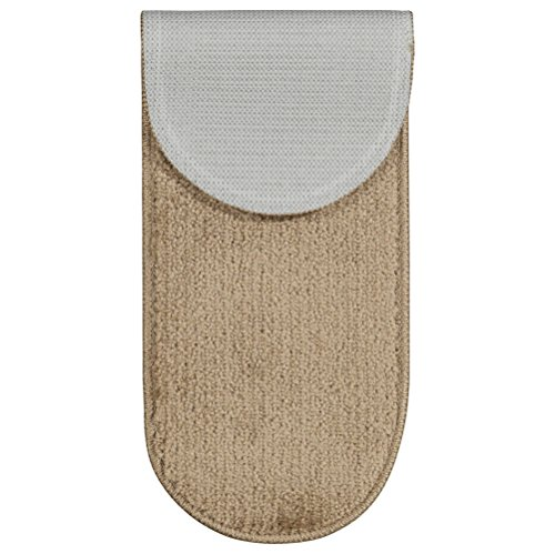 Ottomanson Softy Collection Stair Tread, 9'' X 26'' Oval, Beige, 14 Pack by Ottomanson (Image #2)
