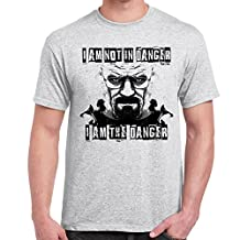 I am Danger-Breaking Bad Style-tshirt-Mens Funny Sayings Slogans T Shirts