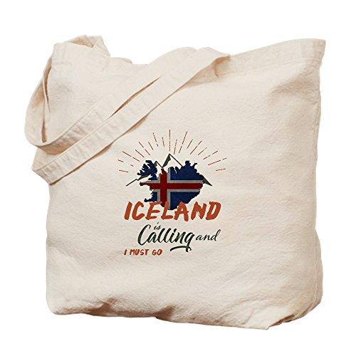 Bolsa Está De Compras Bolsa Lona Cafepress Del Natural Islandia De Llamando Paño 5x1wInqtpz