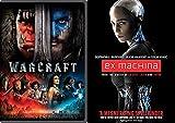 Warcraft & Ex Machina DVD Spellbinder Blu Ray Bundle Hero Set
