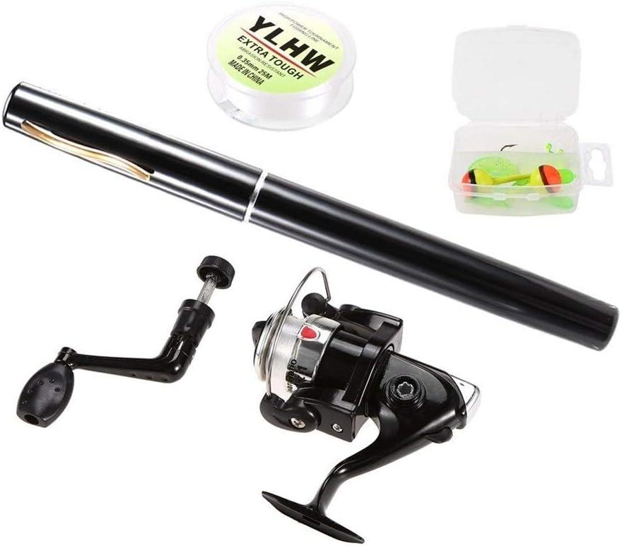 Fishing Rods Pen Fishing Rod and Reel Combo Set Mini