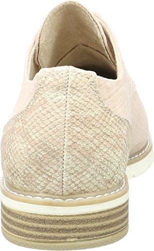 Softline 23260, Zapatos de Cordones Oxford para Mujer Rosa (Rose Metallic 952)