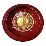 18 Deluxe Wooden Roulette Wheel