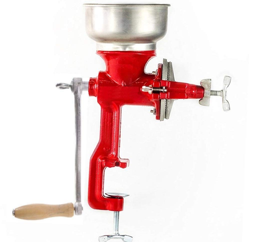 Mexican Made in Mexico Cast Iron Hand Crank Manual Molino De Maiz molinillo Corn Grinder Wheat Grains coffee Nut Mill Tall