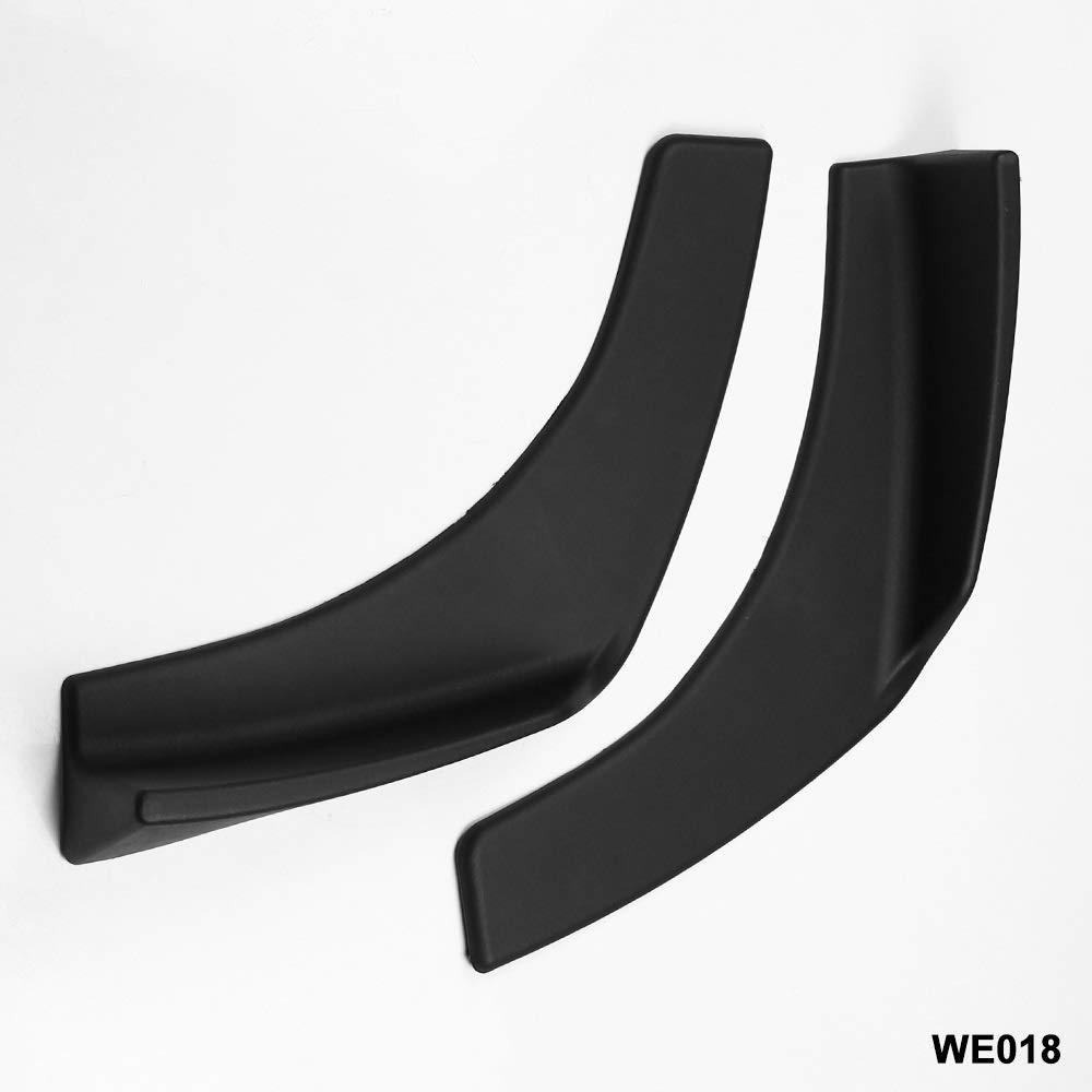 Diverse Universal Fit Parachoques Delantero Parachoques Separadores De Labios Difusor Winglets robusto