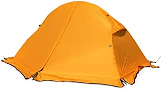 Tent Ultra-Léger Four Seasons Extérieur Simple-20D Silicone Portable 1 Personne Étanche Camping Camping Une Personne