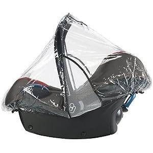 1Stopbabystore Carseat Rain Cover For Maxi Cosi Cabrio, Pebble, M & P, Hauck, Oyster, Britax carseat Raincover