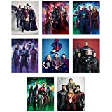 Marvels Avengers Infinity War Poster Wall Decor - 2018 Movie Promo Prints - Set of 8 (8x10) Thor, Spiderman, Black Panther, Captain America, Hulk, Starlord