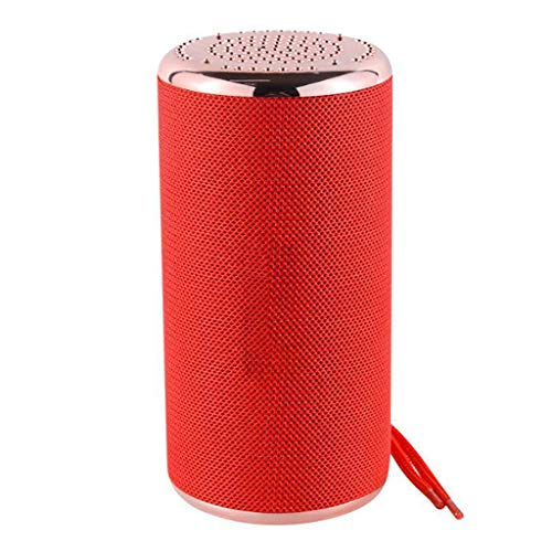 HAHAP Bluetooth Speakers Wireless Portable Speaker,HD Sound and Bass, Built-in Mic, Line-in,8 Hrs Playtime,Handsfree/Phone/MicroSD/Supported,for Camping, Beach, Sports, Pool Party, Shower ()