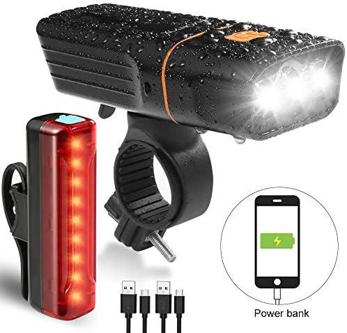 VONTOX Waterproof Rechargeable Options Super Headlight