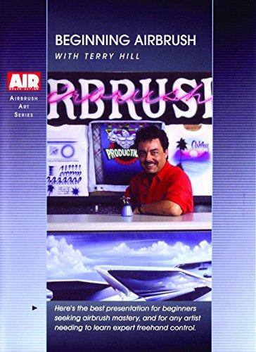 Beginning Airbrush w/ Terry Hill (Airbrush Videos Dvd)