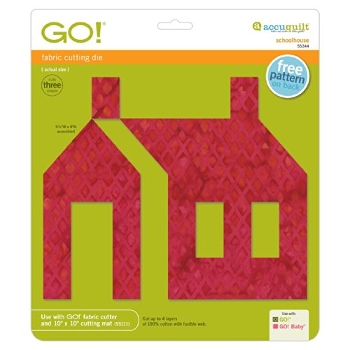 AccuQuilt GO! Schoolhouse by AccuQuilt