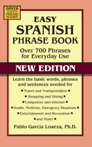 Book NEW EDITION: Over 700 Phrases for Everyday Use (Dover Language Guides Spanish) ()