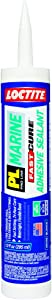 Loctite PL Marine Fast Cure Adhesive Sealant, 10.1 Ounce Cartridge, 12-Pack (2016891-12)