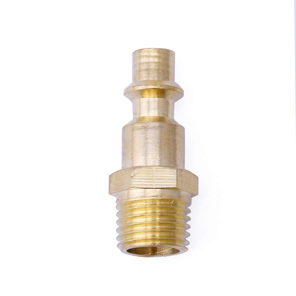 BIlinli Connettore per raccordi per compressori di Tubi Flessibili Aria compressa da 1//4NPT Quick Air