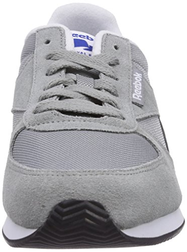 ReebokClassic Jogger - Zapatillas Unisex adulto Grau (Flat Grey/Black/Energy Blue/White/Collegiate Royal)