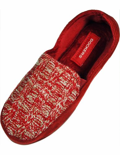 Red Ladies Slippers Dockers Dockers Slippers Dockers Ladies Red wPvf8f