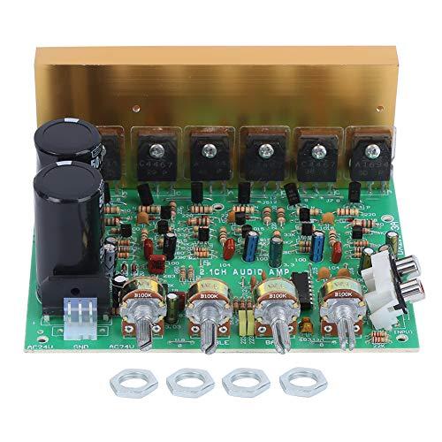 Power Amplifier Board, 2.1 Channel Subwoofer, 300W High Power Volume Potentiometer Module, Channels 2 x 100W, Power Amplifier Module, Output Impedance 4-16 Ω