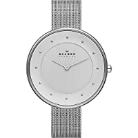 Skagen Klassik Women's Two-Hand Woven Steel Watch