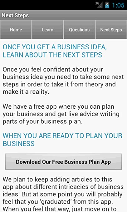 amazon com business ideas appstore for android