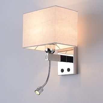 Tête De Lit Applique Murale Chambre Lampe De Lecture Moderne Salon