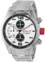 Red Line Men's RL-50042-22 Stealth Chronograph White Textured Dial Stainless Steel Watch