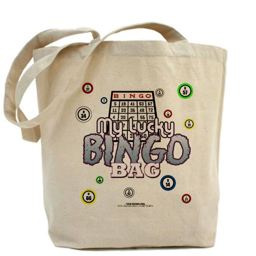 Cafepress My Lucky bingo Tote bag – standard multi-color