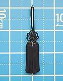 房4寸_黒(国産)(約12~13cm)およそ全長30cm