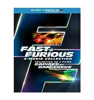 Fast & Furious 1-6-Movie Collection [Blu-ray + Digital Copy + UltraViolet] (Bilingual) (B00INZSMXG) | Amazon price tracker / tracking, Amazon price history charts, Amazon price watches, Amazon price drop alerts