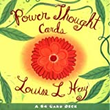 img - for By Louise Hay - Power Thought Cards (Beautiful Card Deck) (Crds) (3/16/04) book / textbook / text book
