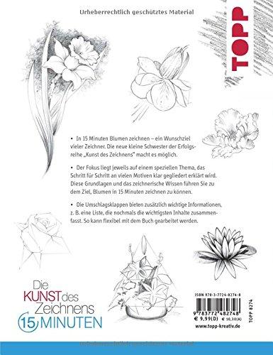 Die Kunst Des Zeichnens 15 Minuten Blumen Mit Gezieltem Training
