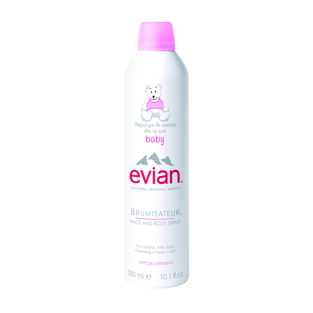 Evian Facial Spray Face And Body For Baby 10 300 Ml Ounce Beauty