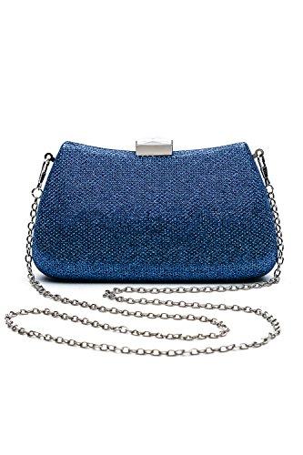 Women-Clutch-Purse-Hard-Case-Shiny-Evening-Bag-Glitter-Handbag-With-Chain-Strap