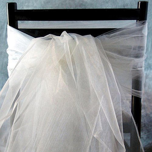 Organza Sheet in Ivory - 54