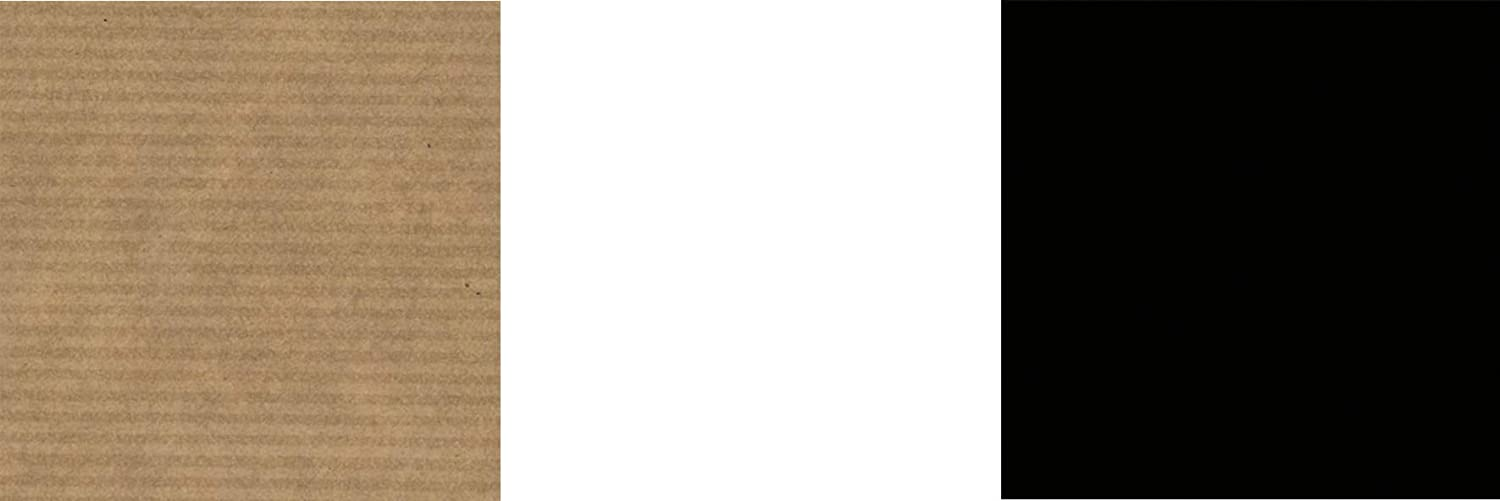 30 x 30 cm, 32 Bogen, 80 g//m/² schwarz wei/ß Faltbl/ätter sortiert Origamipapier braun gerippt -