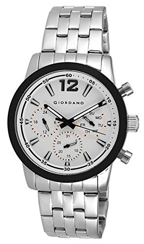 Giordano Analog White Dial Men's Watch – A1024-44