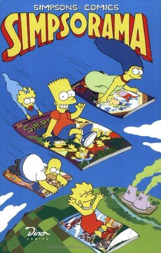Simpsons Comics, Sonderband 3: Simps-O-Rama Taschenbuch – 1998 Bill Morrison Matt Groening Martin Schlösser Dino Verlag GmbH
