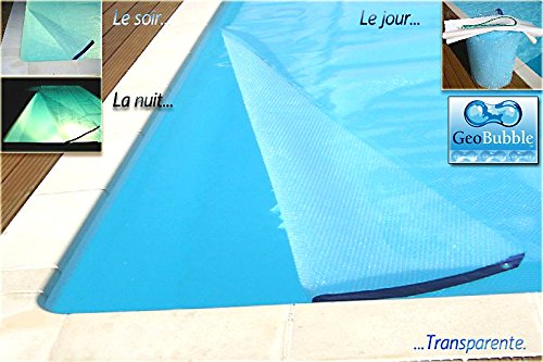 wikicover Geobubble sol-guard/  Farbe Transparent 500/ mic / Topper Solar Thermo f/ür Pools 800/ x 400/ cm