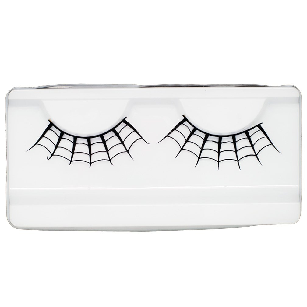 Emilystores Spider Web Crown Halloween Costume Fancy Fashion Party Look Black Paper Lashes False Eyelashes 1 Pairs by EMILYSTORES PL042