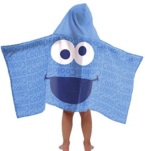 Jay Franco Sesame StreetCookie Monster Cotton Hooded