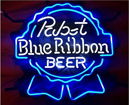 Free Shipping!Super Bright! New Beerbar Pabst Blue for sale  Delivered anywhere in USA