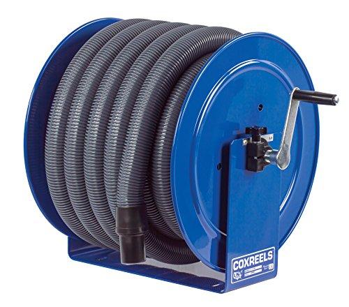 (Coxreels V-117H-835 V-117-850 Vacuum Only Direct Crank Rewind Hose Reel, 1-1/2