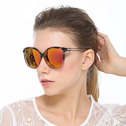 CJ 2018 Frauen New Fashion Polarisierte Sonnenbrille Fahren Brille Große Sonnenbrille, 4