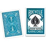 Bicycle Turquoise Back Playing Cards - Poker Size