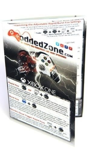 White/Gold Smart Rapid Fire Custom Modded Controller for Xbox One S Mods FPS Games and More. Control and Simply Adjust… 7