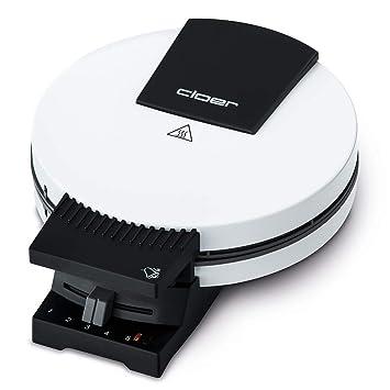 Cloer 181 Waffelautomat für kuchenartige Waffeln / 930 W / Waffelgröße 16 cm / schwere Backplatten / optische und akustische