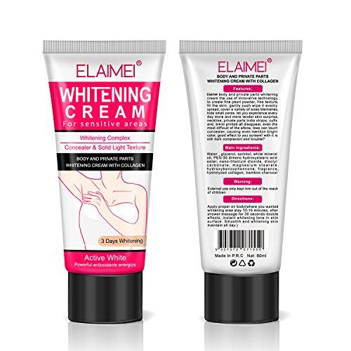 Natural Whitening Cream, Underarm Lightening and Brightening Deodorant Cream, Armpit Whitening Body Creams, Underarm Repair Whitening Cream Between Legs Knees Sensitive Areas (Best Armpit Whitening Cream)