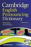 Cambridge English Pronouncing Dictionary with CD-ROM, Daniel Jones, 0521152550