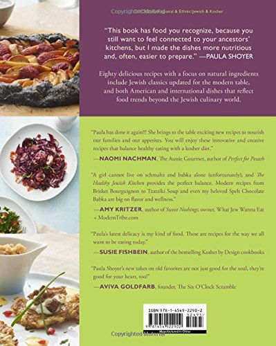The Healthy Jewish Kitchen: Fresh, Contemporary Recipes for Every