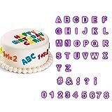 40pcs Alphabet Number Letter Fondant Cake Decorating Set Icing Cutter Mold Mould (KT0019)